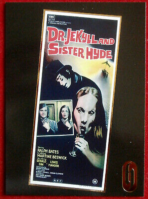 HAMMER HORROR - Series One - Gold Foil Card F2 - Dr Jekyll & Sister Hyde