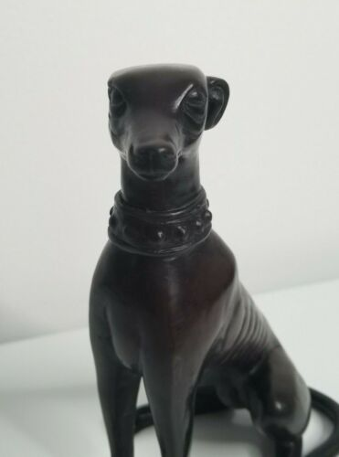 Vintage Whippet Greyhound Dog Figure Statue Figurine