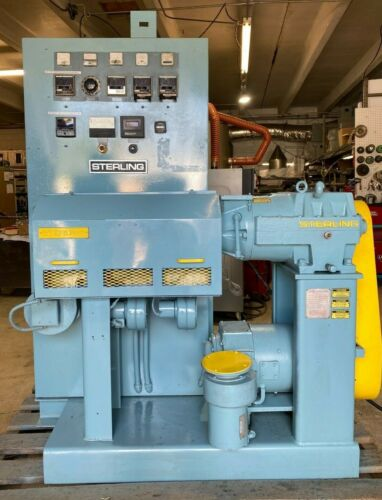 """Used 1.5"""" 24 to 1 Sterling Plastic Extruder with New Temperature Controllers"""