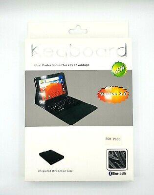 Używany, Für Samsung Galaxy Note 10.1 Tablet PC Bluetooth Keyboard Tastatur Tablett Leder na sprzedaż  Wysyłka do Poland