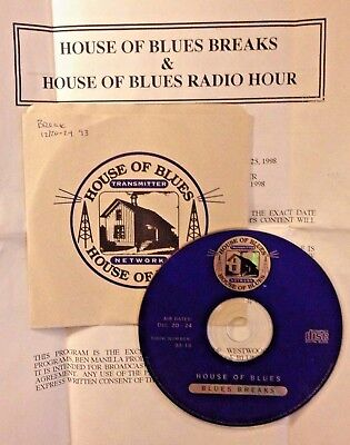 Radio Show:HOUSE OF BLUES 11/8/03 RICK HOLMSTROM GUEST/FUTURE BLUES