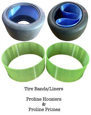 Rear Tire Band Set for Hoosier Drag Slick Tires and Proline Prime SC Tires