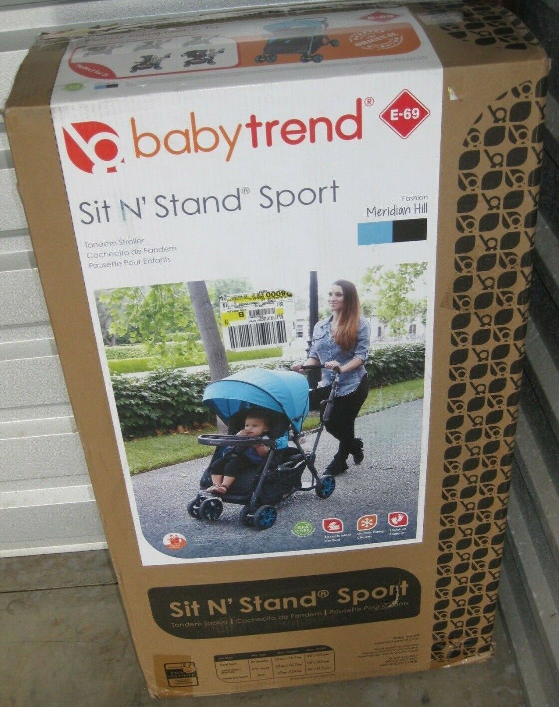 trend sit n stand double