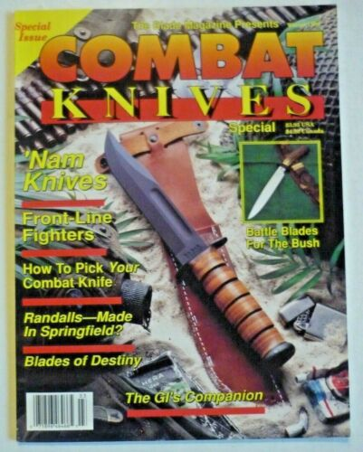 Blade Magazine Presents COMBAT KNIVES Special Issue Magazine Winter 1989 NOS New