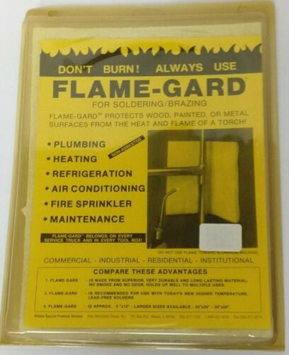 Flame Gard 2400 Safety Pad - 9 inch x 12 in