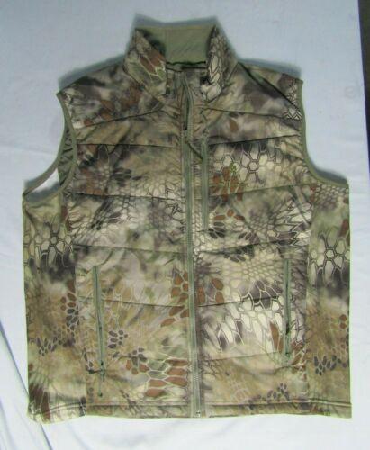 Kryptek Cirius Down Vest Size Xlarge