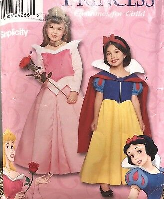 Sleeping Beauty Plus Size Costume (SEWING PATTERN Simplicity 9384 Disney AURORA SLEEPING BEAUTY SNOW WHITE sz)