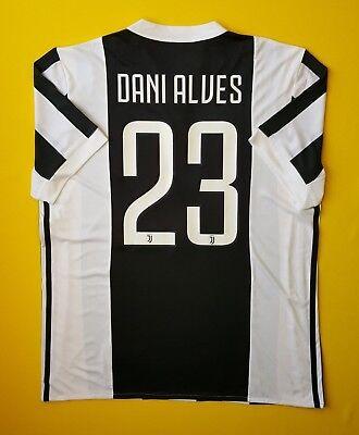 7bb1247d2 5+ 5 Dani Alves Juventus jersey LARGE 2017 2018 home shirt BQ4533 soccer  Adidas