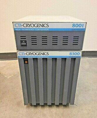 Cti Cryogenics Helix 8001 Controller 8300 Compressor Recirculating Water Chiller