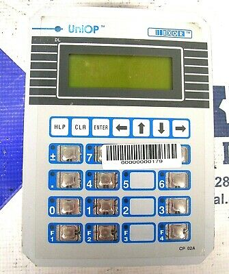 Uniop Exor Operator Interface Cp02r-04-0021 Cp02r04-0021 60 Day Warranty