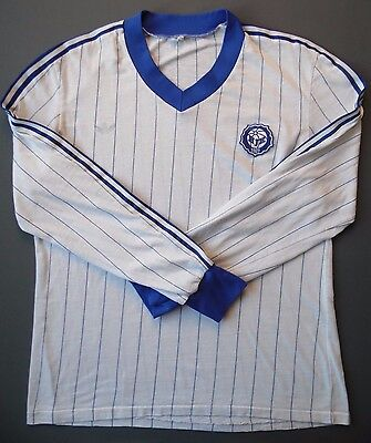 4.8/5 RARE  HJK Helsinki Finland 1980~1990 FOOTBALL SHIRT JERSEY MAGLIA ADIDAS  image