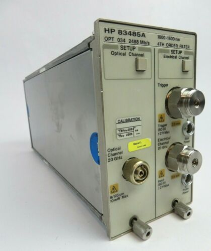HP Agilent 83485A 20 GHz Optical and Electrical Module