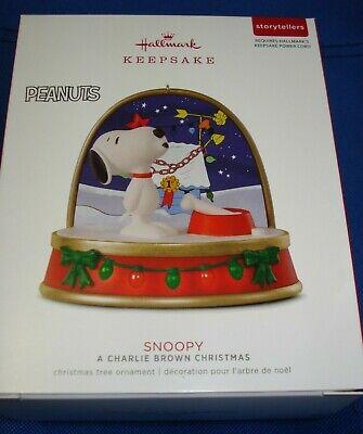 Hallmark 2018 Peanuts Snoopy Christmas Story Teller