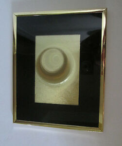 Manifestations Optical Illusion Art, Black Mat, Gold Frame, 10