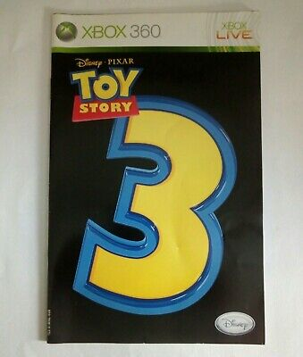 Toy Story 3 - Manual Only - Microsoft Xbox 360