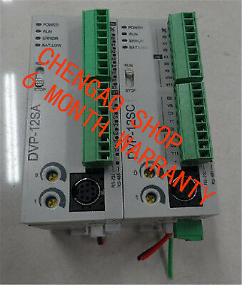 1PC Used GOOD Delta PLC DVP12SC11T  (by EMS or DHL) #CZ 174
