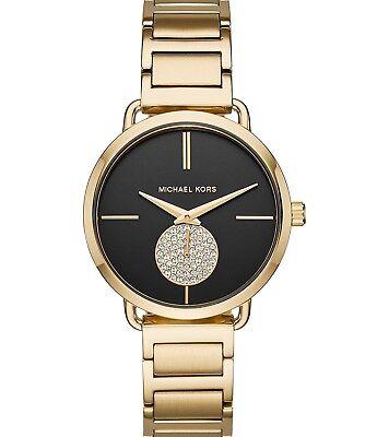 Michael Kors MK 3788 Women's 'Portia' Quartz Stainless Steel Watch, Gold-Tone