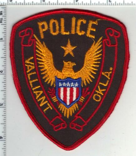 Valliant Police (Oklahoma) 2nd Issue Shoulder Patch