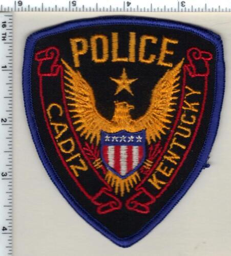 Cadiz Police (Kentucky) 1st Issue Shoulder Patch