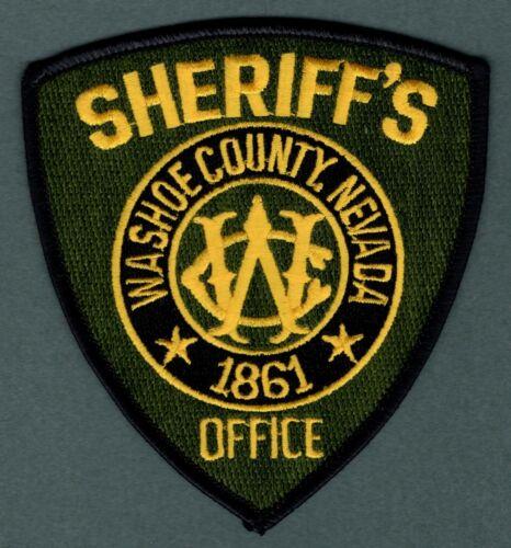 Washoe County Nevada Sheriff Police Patch
