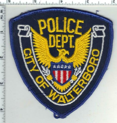 Walterboro Police (South Carolina) 1st Issue Uniform Take-Off Shoulder Patch