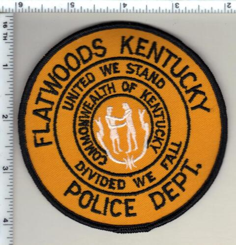Flatwoods Police (Kentucky) uniform take-off patch from 1990