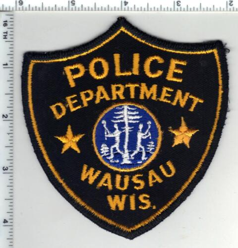 Wausau Police (Wisconsin) 1st Issue Shoulder Patch