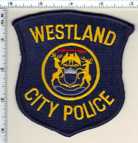 Westland Police (Michigan)  Shoulder Patch  - new from 1991