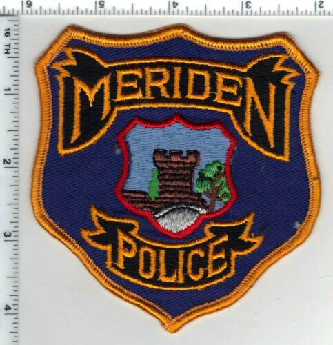 Meriden Police (Connecticut) 2nd Issue Shoulder Patch