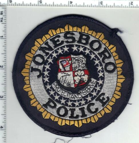 Jonesboro Police (Arkansas) 2nd Issue Uniform Take-Off Shoulder Patch