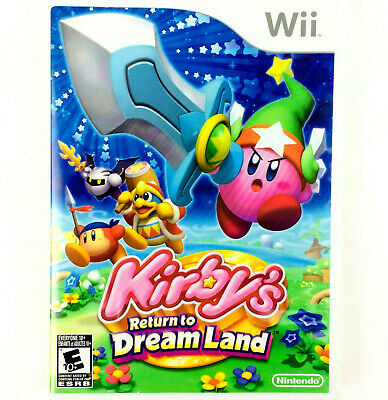 Kirby's Return to Dream Land (Nintendo Wii, 2011) Complete w/ manual