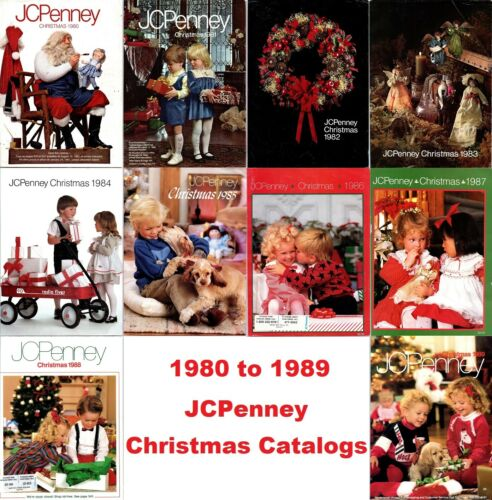 JCPenney Christmas Catalogs on Disc (1980 to 1989)