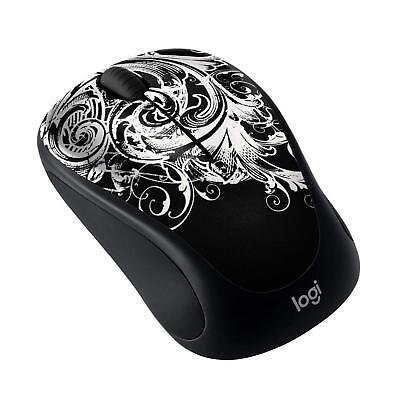 Logitech M317C Wireless Mouse Dark Fleur