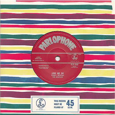 "THE BEATLES Love Me Do 2012 UK 2nd press vinyl 7"" Ringo version NEW/UNPLAYED"