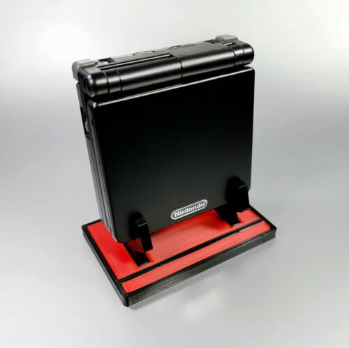 Custom Display Stand for GameBoy Advance SP Console 3D Printed Multi Colors