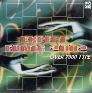 Expert Fonts 2002 – Over 7,000 fonts on CDROM