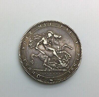 1819 LIX George III Crown Pleasing Mid Grade Great Britain
