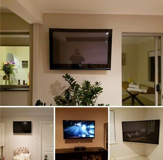 "GET YOUR TV WALL MOUNTED! PLASMA, LCD, LED TV  30""-80""!!"