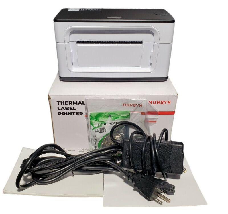 USB Label Printer, MUNBYN UPS 4 6 Thermal Shipping Label Printer + 1,000 Labels