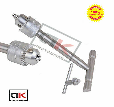 T - Handle With Chuck Key Orthopedic Surgery Veterinary Instrument New Ce