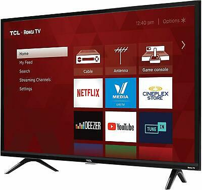 "TCL  720p Smart LED Television (2019), 32"" High Definition"