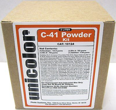 Ultrafine Unicolor C-41 Powder Home Color Film Developer Kit (2 Liter) 35mm 120