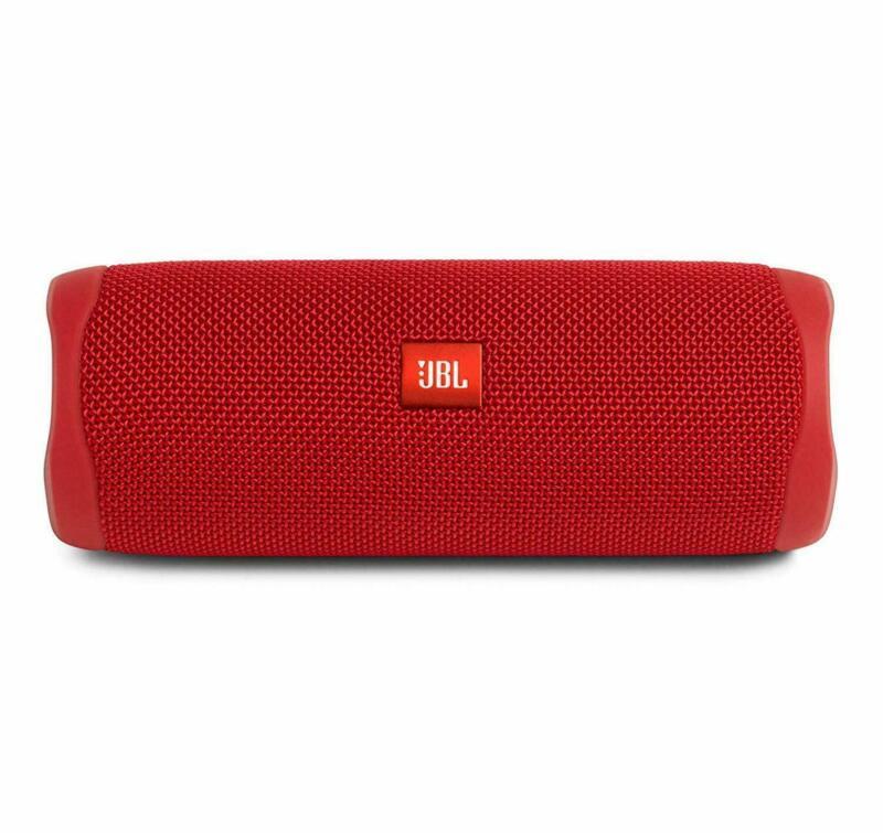JBL Flip 5 Portable Waterproof Bluetooth Speaker Red (JBLFLIP5REDAM)