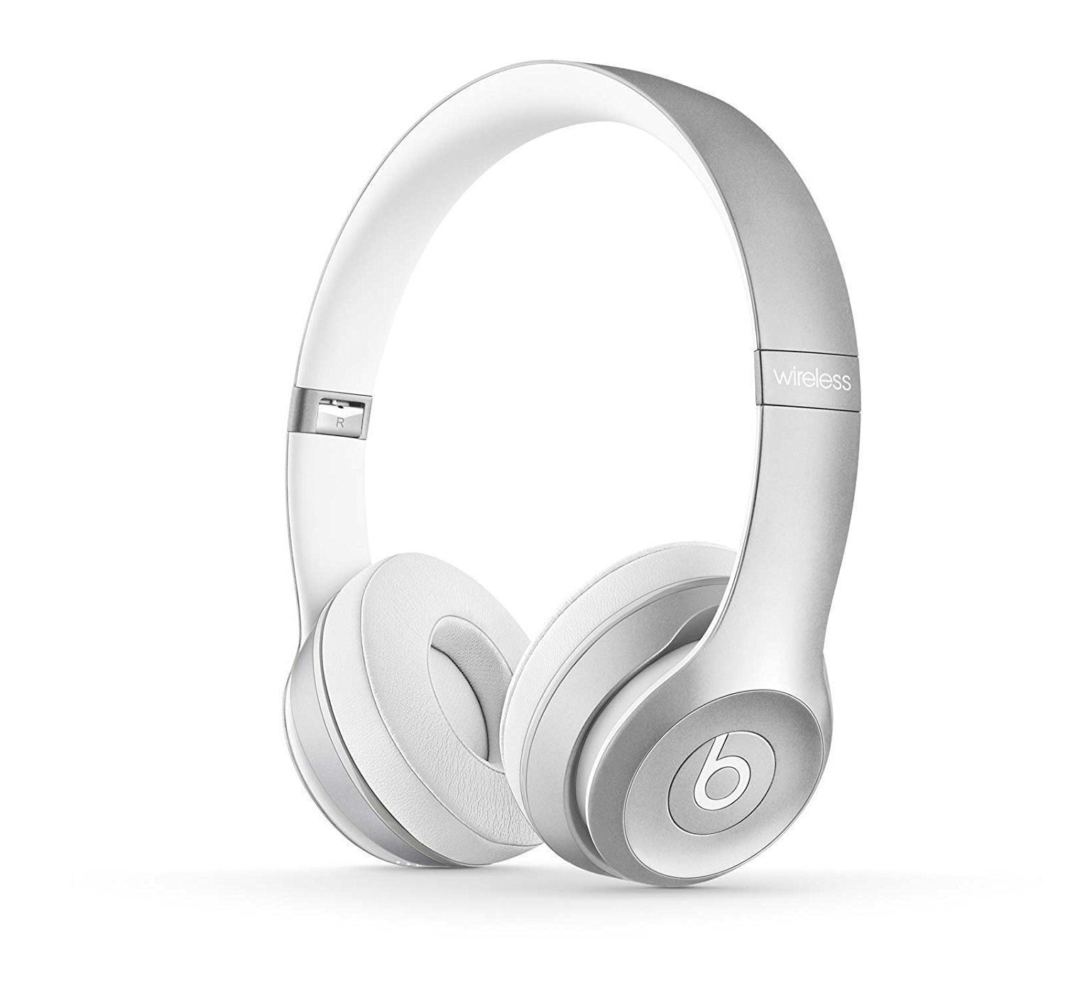 Beats By Dre - Beats by Dr. Dre Solo2 Wireless Headband Headphones - Silver Edition