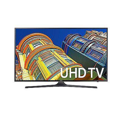 Samsung 40  4K Smart Tv Ultra Hd Led  2016 Model  Un40ku6290fxza Dark Titan New
