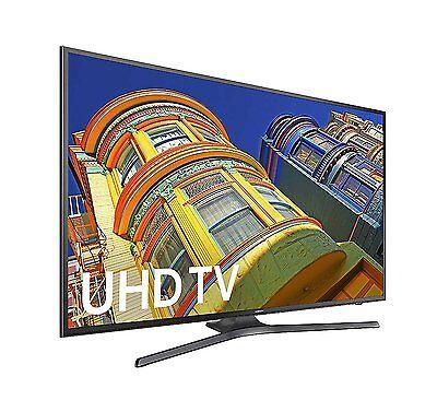 Samsung UN40KU6290 40-Inch 4K Ultra HD 60Hz Smart LED TV w/ 3 HDMI & 2 USB