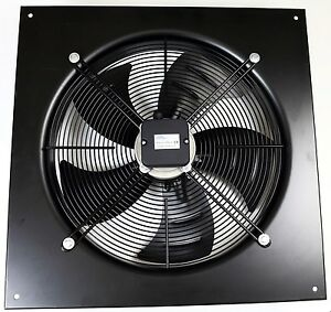 Commercial Extractor 300mm Axial Duct Plate Fan, Kitchen Extract, Suction 4 Pole