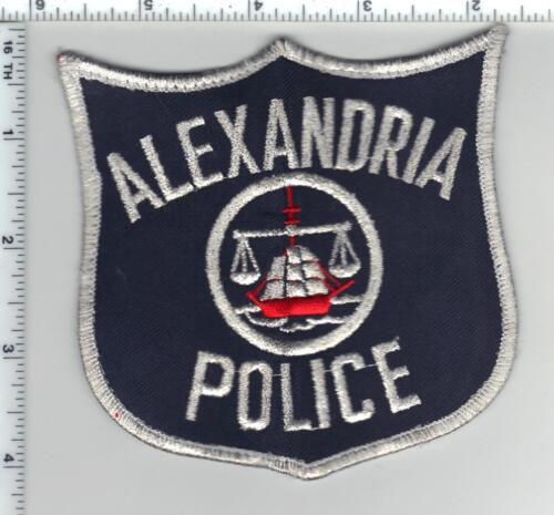 Alexandria Police (Virginia) Uniform Take-Off Bullion Shoulder Patch