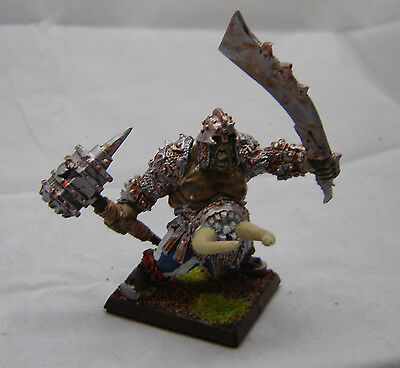 Warhammer Ogre Kingdoms Tyrant metal  painted metal base table ready
