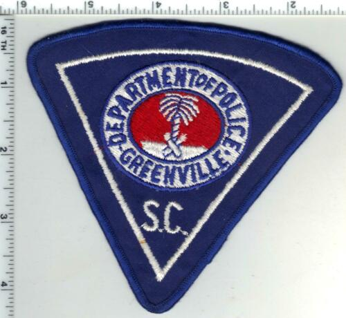 Greenville Police (South Carolina) 4th Issue Uniform Take-Off Shoulder Patch